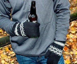 Beer Mittens – Keep your hands warm and your beer cold