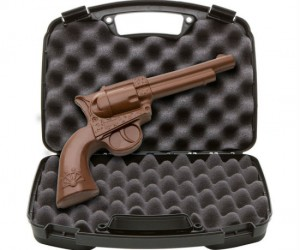 Chocolate Revolver Gun – Loaded with flavor!
