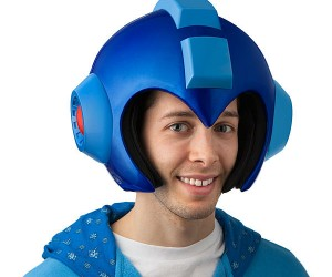 Wearable Mega Man Helmet – It's time to rock