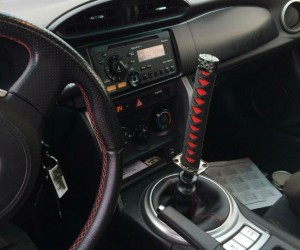 Katana Shift Knob – Perfect for those extra sharp turns.