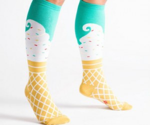 Socks that look good enough to eat!