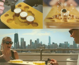 Mini Beer Pong – Like normal beer pong only you get less drunk.