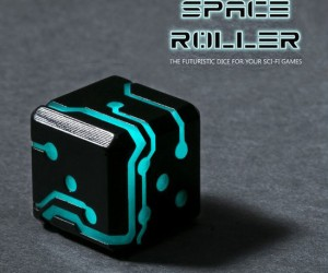 Space Dice – These glow in the dark dice are perfect for futuristic RPG games like Dreadball, Star Trek, or just rolling for fun!