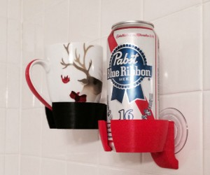 Because nothing beats a nice shower beer in the morning.