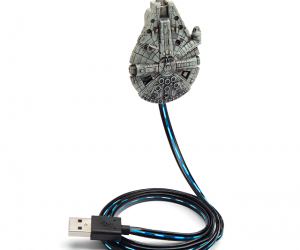 Star Wars Millennium Falcon Charging Cable – She's got it where it counts kid
