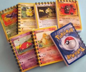 Pokemon Card Notebooks!
