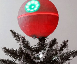 Death Star Tree Topper – Christmas Moon