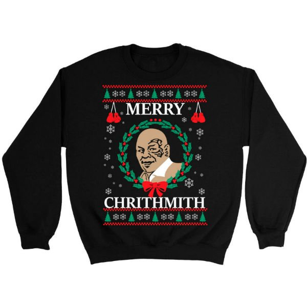 mike-tyson-merry-chrithmith-ugly-christmas-sweater