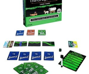 Oregon Trail Card Game – You have died of dysentery