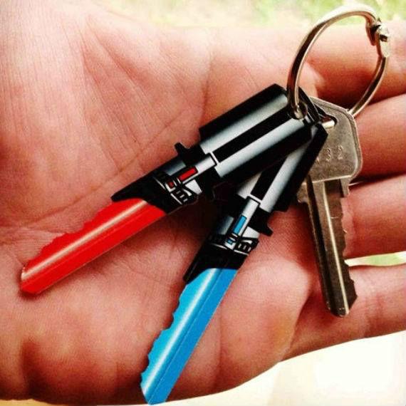 best-star-wars-products-lightsaber-keys
