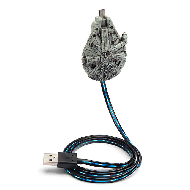 best-star-wars-products-millennium-falcon-charging-cable