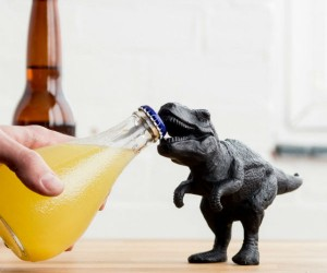 T-Rex Bottle Opener – Rip into a cold one with the jaws of a prehistoric beast!