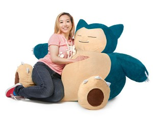 Snorlax Bean Bag Chair – Snore more with Snorlax
