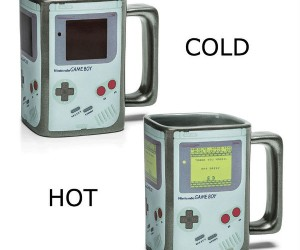 Gameboy Heat Changing Mug! – Power On!