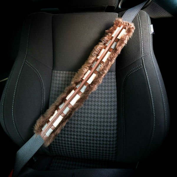 chewbacca seatbelt cover
