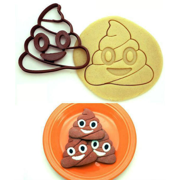 poop emoji cookie cutter