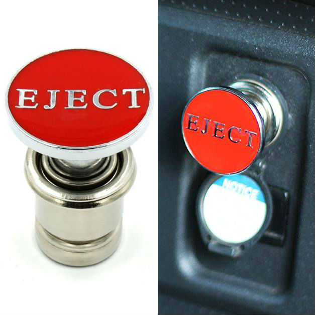 eject button cigarette lighter