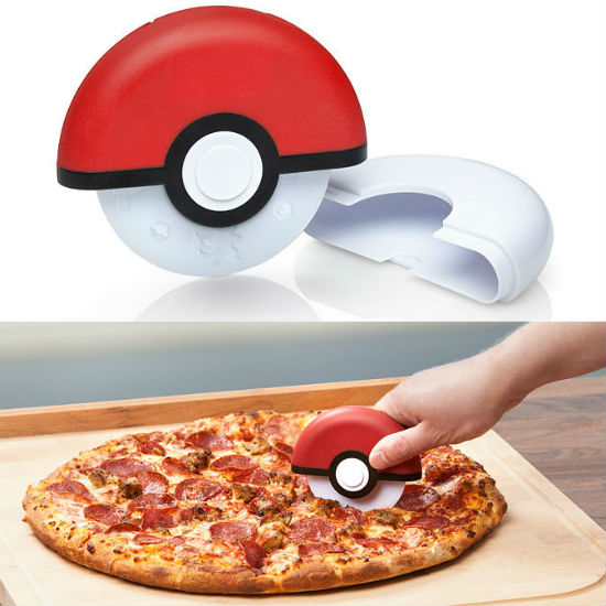 pokeball pizza cutter