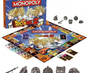 Dragon Ball Z Monopoly – Pick your favorite icon to carry you around the game board, recruit your team to become the richest fighter, and upgrade your team with Kamen houses