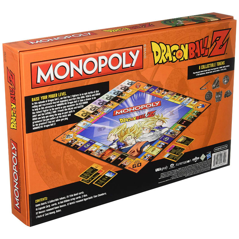 dragon ball z monopoly 3