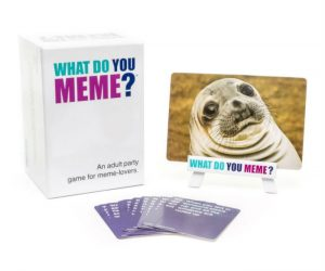 What do you meme? An adult party game for meme lovers.