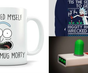 Get Schwifty with the 15 Best Rick and Morty Products of 2017!