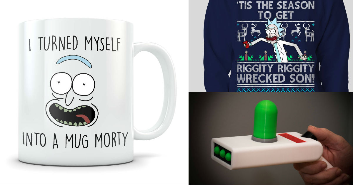 rick and morty products