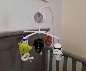 Star Wars Baby Mobile w/ Themed Lullaby Music