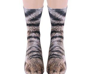 Sublimated Paw Crew Socks!