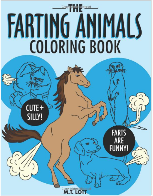Farting Animals Coloring Book Shut Up And Take My Money