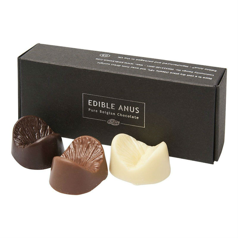 edible anus chocolate