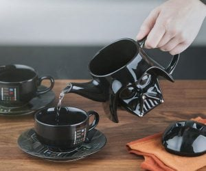 Darth Vader Tea Set – We would be honored if you would join us