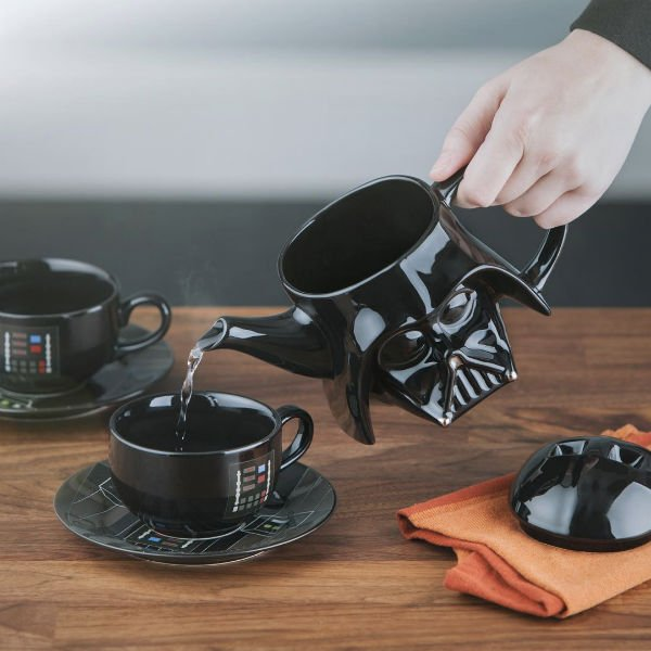 darth vader tea set