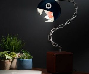 Mario Chain Chomp Lamp – Belongs in your own personal Museum of Modern Arf