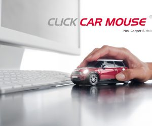 Click Car, Mini Cooper Car Mouse!