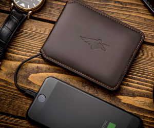 A wallet this smart is just plain illegal.