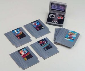Nintendo NES Cartridge Coasters – Impress your friends with these wicked retro coasters that feature some of NES's most iconic games