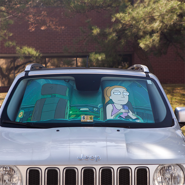 rick and morty protect summer sunshade