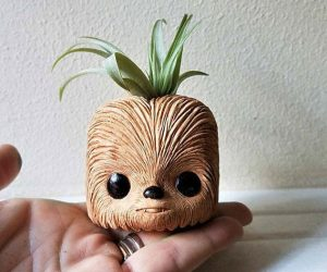 Chewbacca Head Planter – Chewy never looked so cute