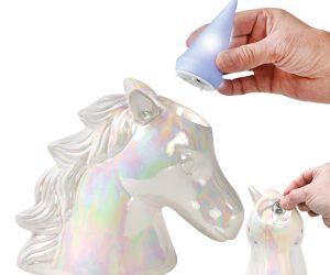 Unicorn Light/Coin Bank!