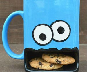 Cookie Monster Coffee Mug – Cookie Monster isn't the only one who loves cookies!