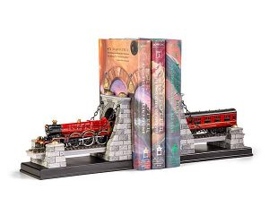 Harry Potter Hogwarts Express Bookends – This set comes with two pieces of the Hogwarts Express as it speeds through a tunnel on its way to the greatest school of witchcraft