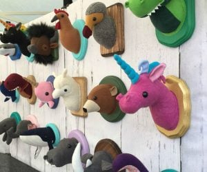Taxidermy Stuffed Animals – Ever wanted to hang a unicorn head on your wall? Well now you can!