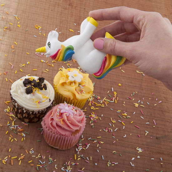 unicorn sprinkle dispenser