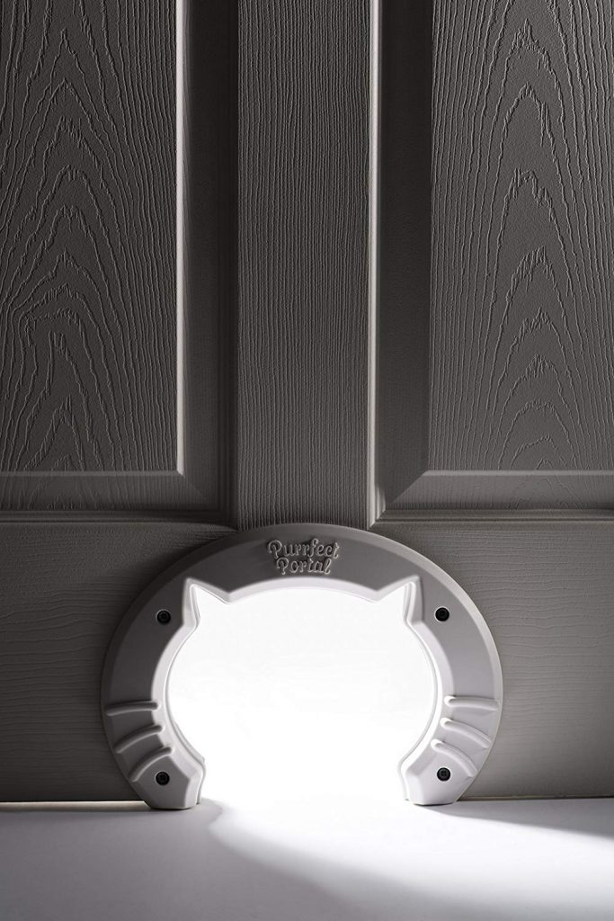 cat shaped kitty door