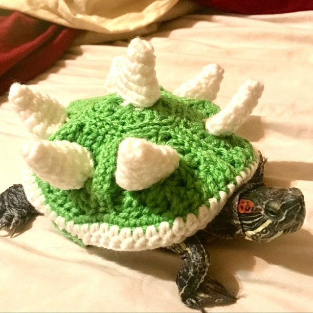 Crochet Bowser Shell For Your Turtle