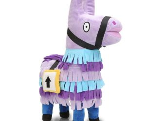 Fortnite Llama Plush – Worth collecting! Show some Fortnite love with this cool and adorable loot supply llama plush!