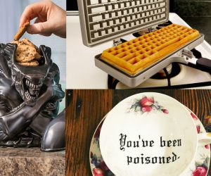 Top 15 Geeky Products for your kitchen – The fastest way to a man's heart is through his stomach — you need the kitchen for that.