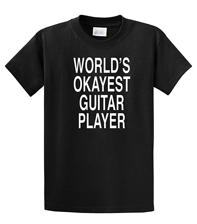 worlds okayest guitar player tee