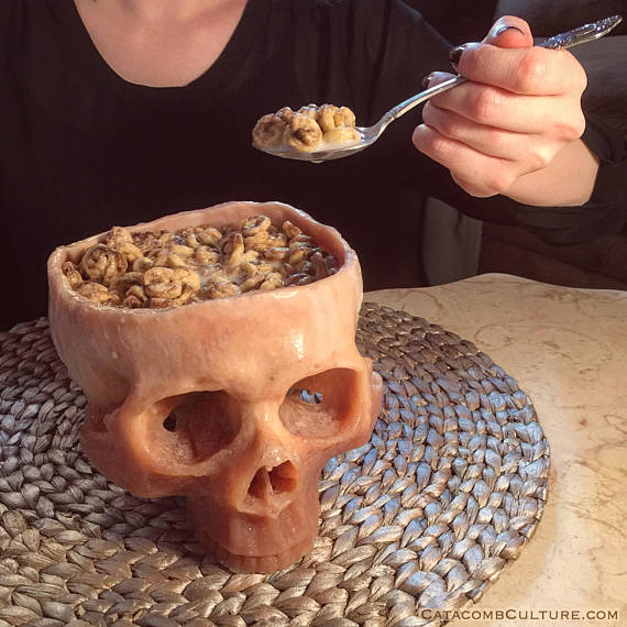 Skull Cereal Bowl